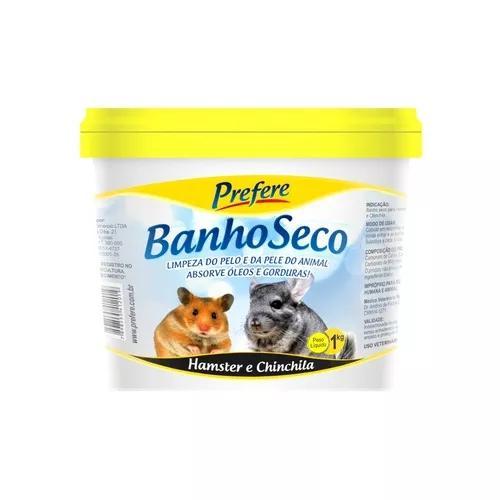 Pó de mármore banho seco para hamster chinchila prefere