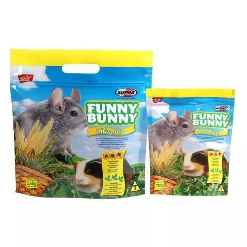 Ração funny bunny chinchila - 2,5kg