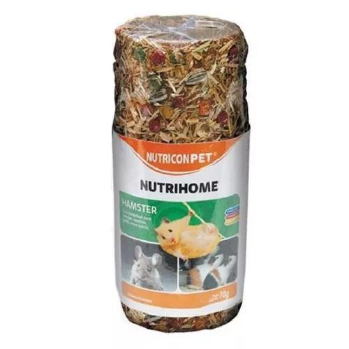 Ração nutricon pet nutrihome pra hamsters tubo - 70g