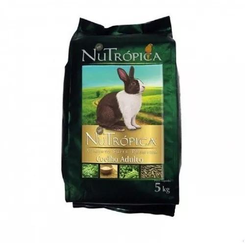 Ração nutropica coelho - 5 kg