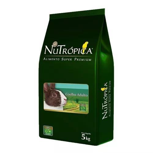 Ração nutrópica coelho adulto - 5 kg