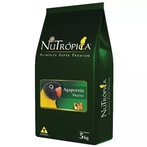 Ração nutrópica com frutas para agapornis - 5 kg