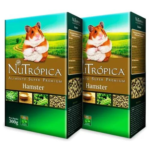 Ração nutrópica natural para hamster 300g - 2 caixinhas