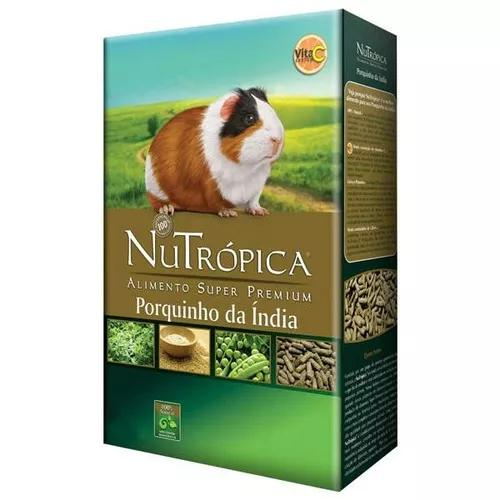 Ração nutrópica porquinho da índia - 1,5 kg