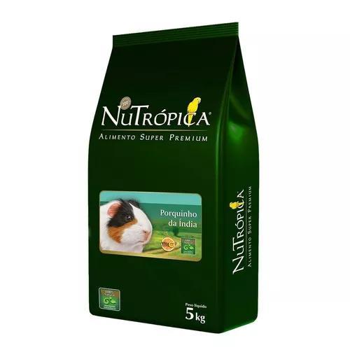 Ração nutrópica porquinho da índia - 5 kg