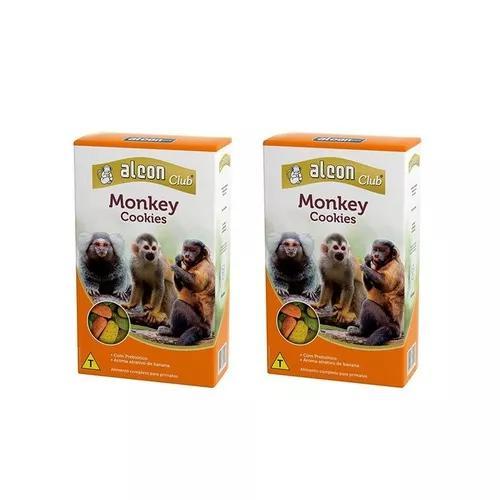 Ração para macaco sagui preto primatas e outros alcon