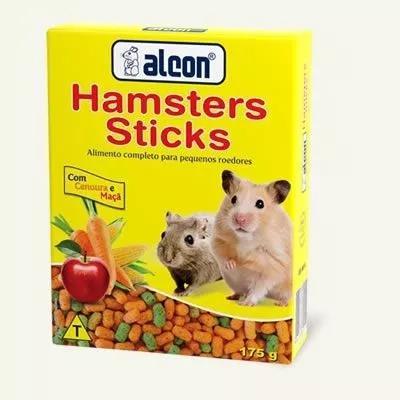 Ração para roedores - alcon hamsters sticks 175g