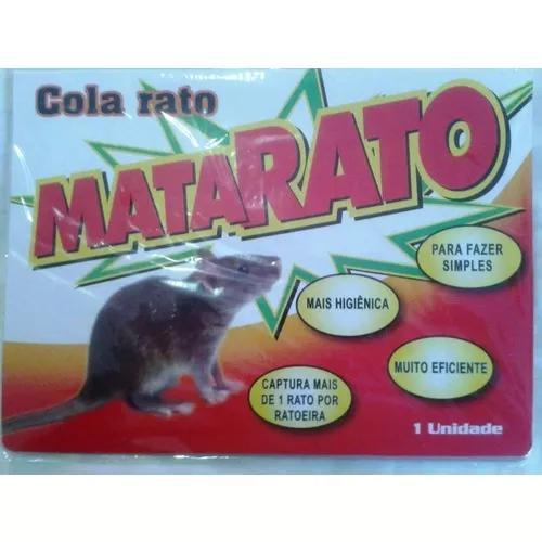 Ratoeira adesiva cola pega mata rato frete gratis