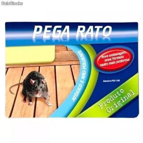 Ratoeira adesiva cola visgo pega rato barata - frete barato