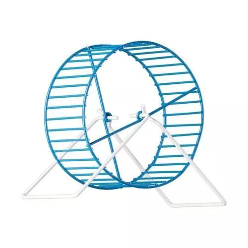 Roda hamster pequena epóxi com suporte - p