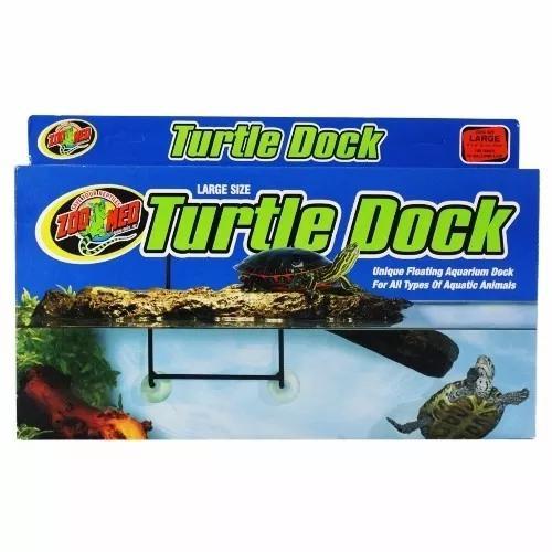 Turtle dock - plataforma para répteis - grande - td - 30