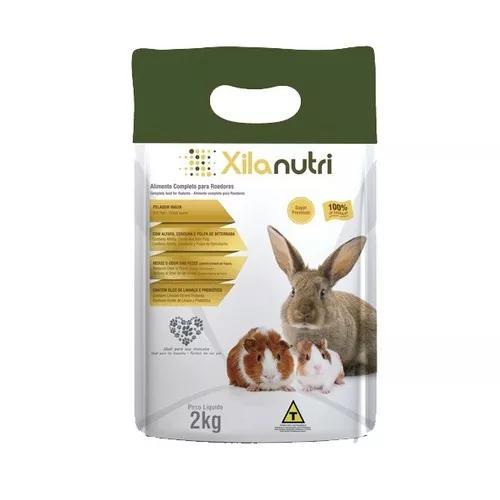 Xilanutri - ração para roedores - 2kg