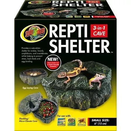 Zoomed repti shelter toca abrigo para répteis pequeno rc-30