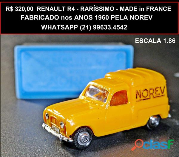 Renaut r4 da norev raríssimo made in france
