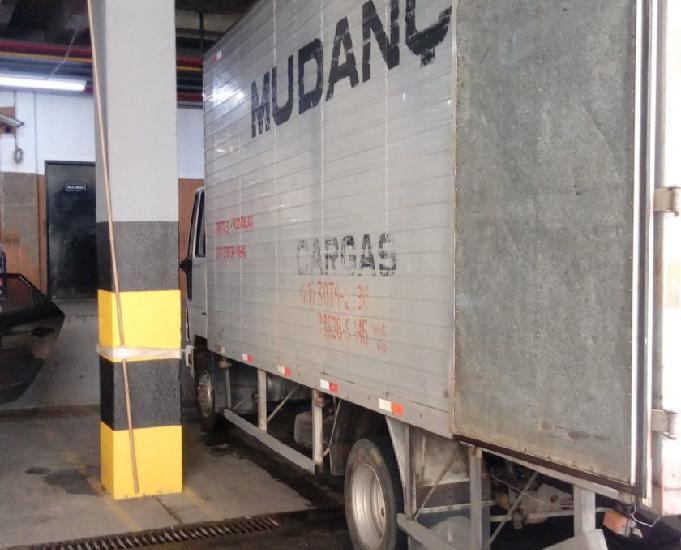 Ford cargo 815 s bau longo semi novo 27 99638-9846