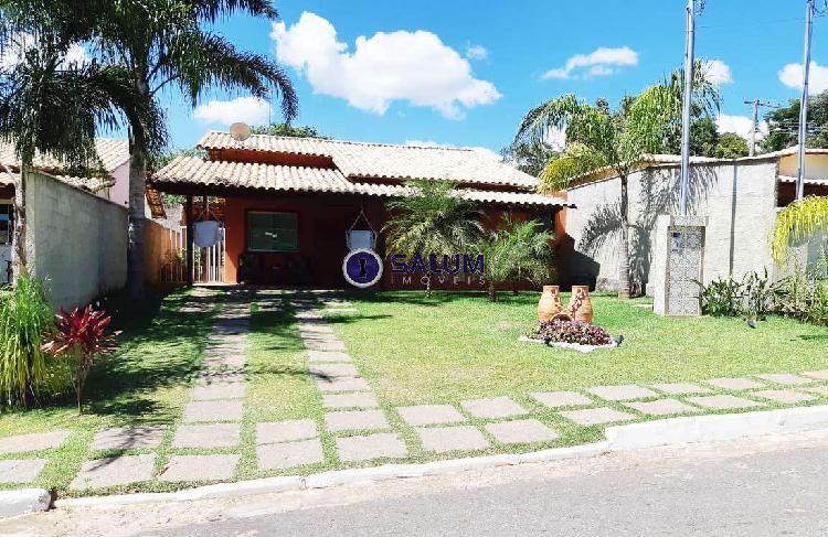 Casa em Condomínio, Lagoa Mansões, 3 Quartos, 4 Vagas, 1