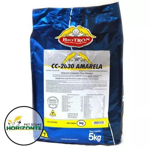 Cc 2030 amarela 5kg - farinhada seca para canários