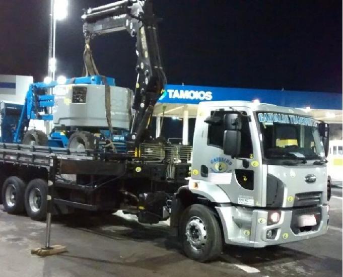 Ford cargo 2429 munck masal 44t carroceria únião ano 2013