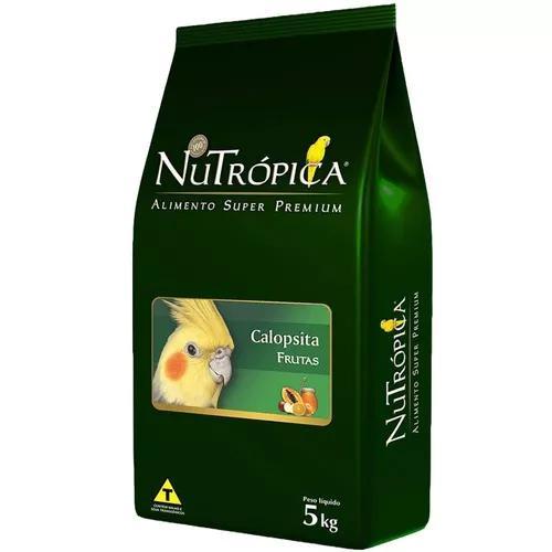 Ração nutrópica com frutas para calopsita - 5 kg