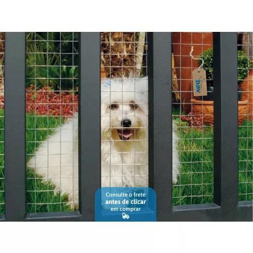 Tela para portão grade para gato cachorro animais 0,50m