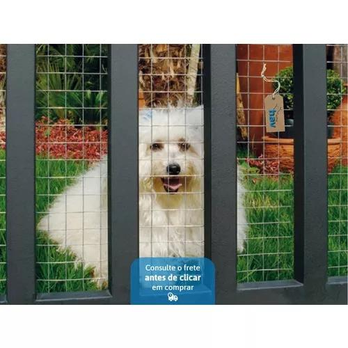 Telinha cerca portão grade para gato cachorro animais 1,00m
