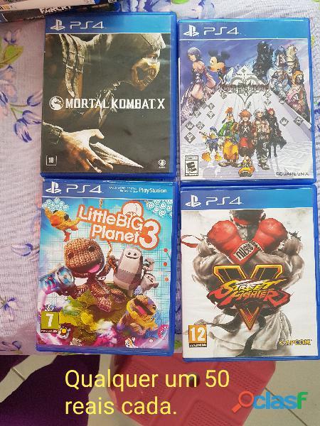 Jogos ps4 vários títulos todos originais