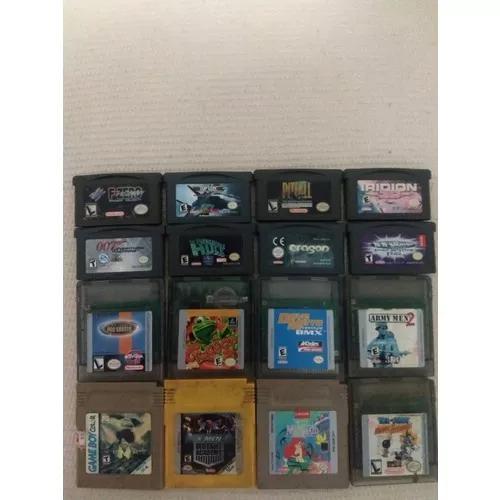 14 jogos de game boy color e advanced originais e 2 similar