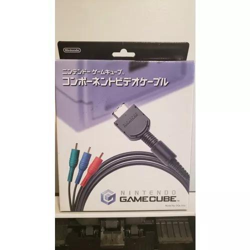 Cabo vídeo componente gamecube original nintendo