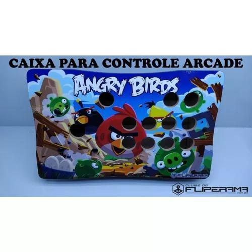 Caixa para controle arcade clube do fliperama