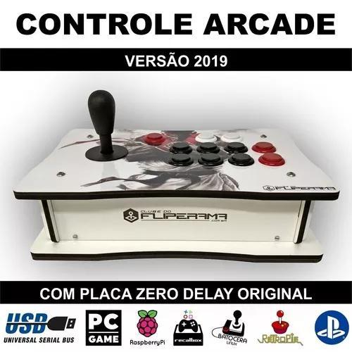 Controle arcade zero delay original pc ps3 ps4 versão 2019