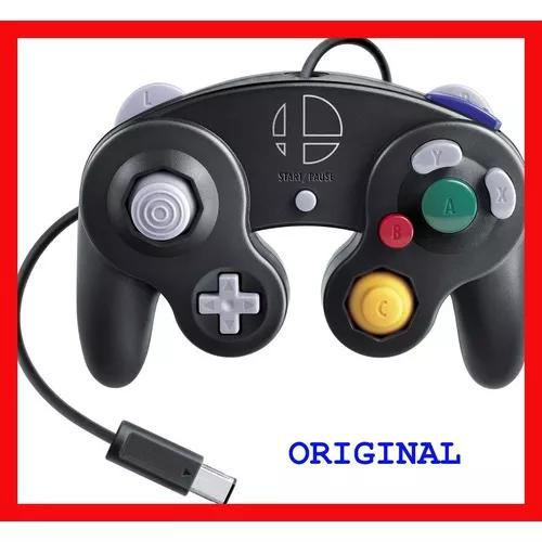 Controle game cube smash bros nintendo switch original novo
