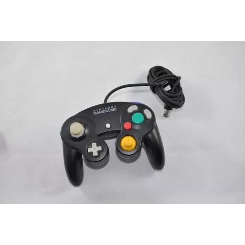 Controle Gamecube Nintendo Game Cube Preto
