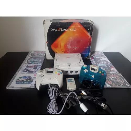 Dreamcast desbloqueado conservado +8 jogos +m