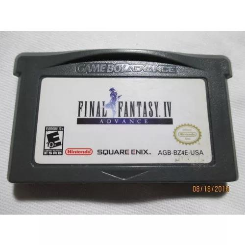 Final fantasy iv (original) p/game boy advance(ler anúncio)