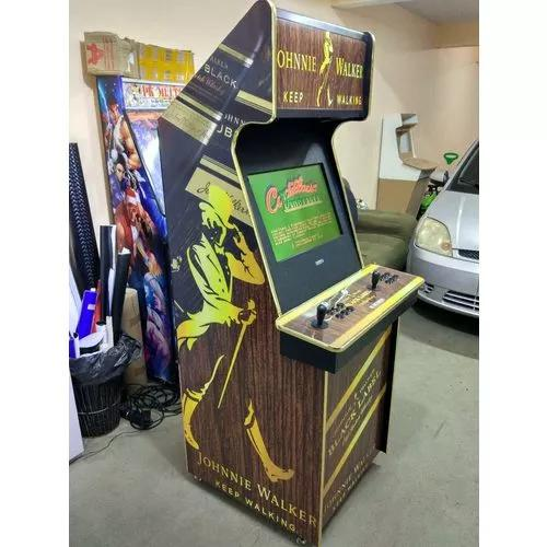 Fliperama 22 pol. arcade compl. johnny walker pk multijogos