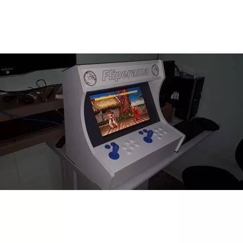 Fliperama arcade bartop + de 6000 jogos 19 polegadas.