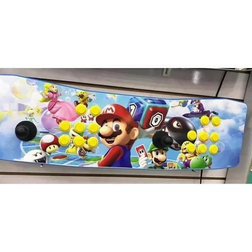 Fliperama portátil arcade com raspberry pi 3 14000 jogos