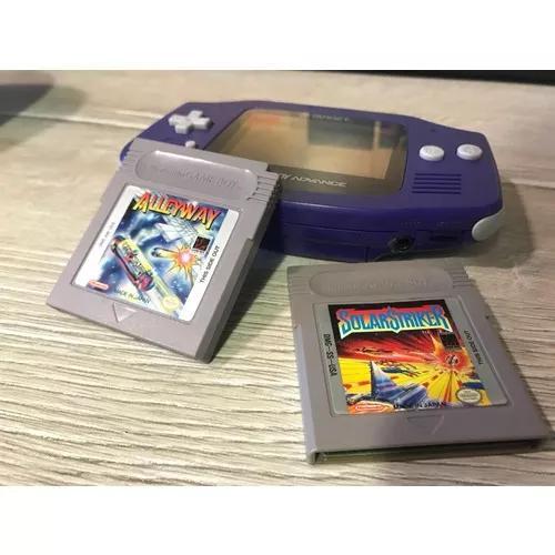 Game boy advance + 2 jogos + case originais
