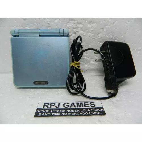 Game boy advance sp c/ carregador compativel loja centro rj