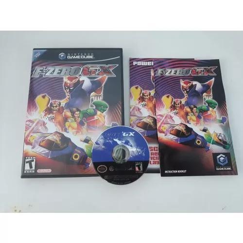 Game cube f-zero gx original completo frete grátis