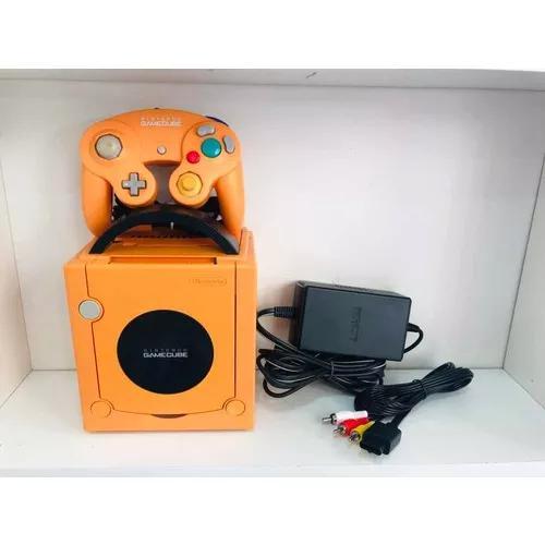 Game cube japones destravado chaveado laranja