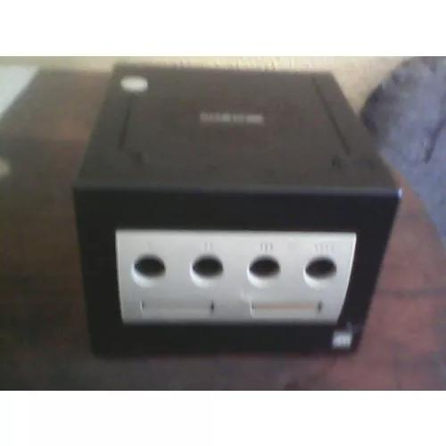 Gamecube Preto Somente O Console No Estado