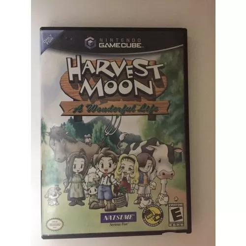 Harvest moon a wonderful life game cube usado