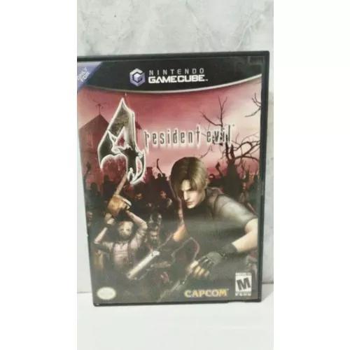 Jogo resident evil 4 gamecube original