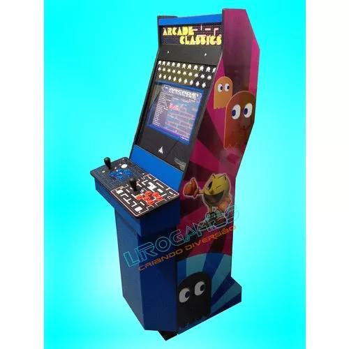 Maquina fliperama multijogos c/ 5 sis. in 1 list -1228 jogos