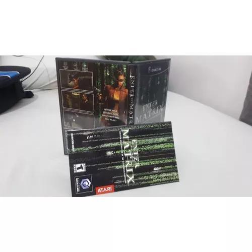 Matrix reloaded game cube - caixa + cd completo