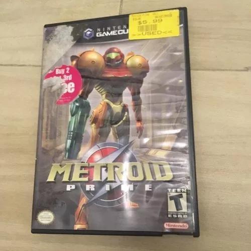 Metroid prime 1 & 2 originais gamecube completos