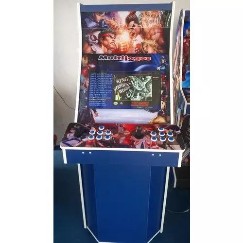 Máquina multijogos 1300 jogos arcade 22