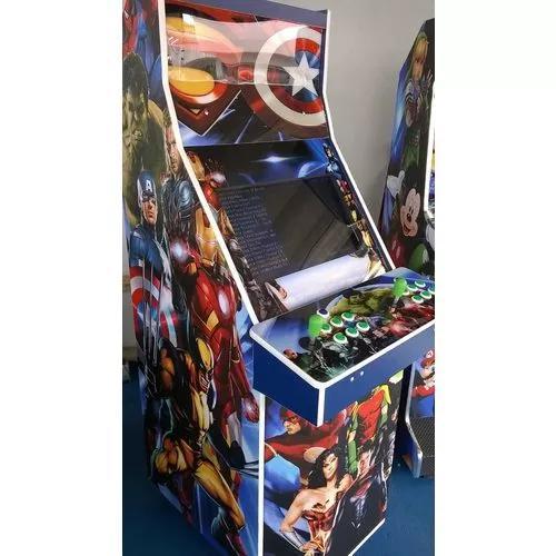 Máquina multijogos 1300 jogos arcade 22 com ficheiro