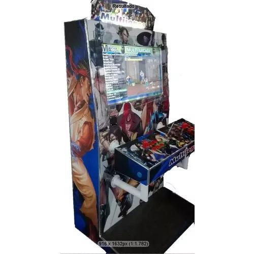 Máquina multijogos arcade 20